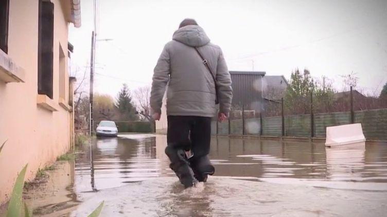 Oise : deux mois après les inondations, les sinistrés d'Appilly toujours dans l'attente (FRANCE 3)