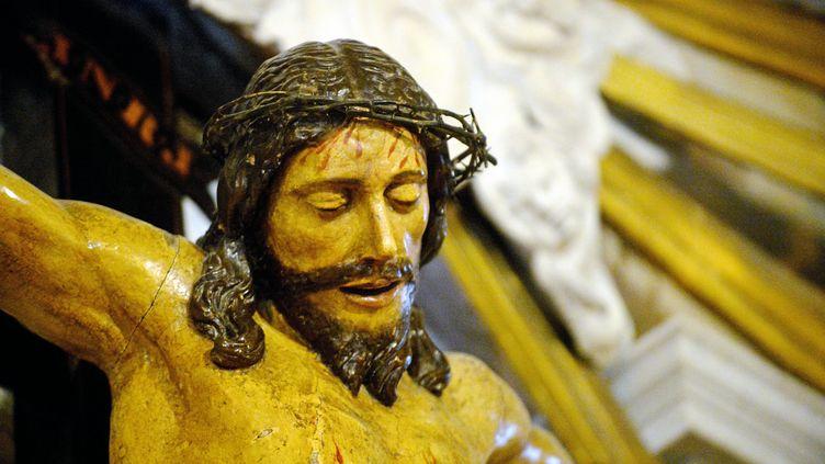 Le Christ en bois d'Agde est-il l'oeuvre de Michel-Ange ? (ESDOURRUBAILH / MAXPPP)