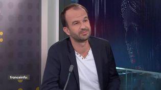 ManuelBompard, député européen La France insoumise. (FRANCEINFO)