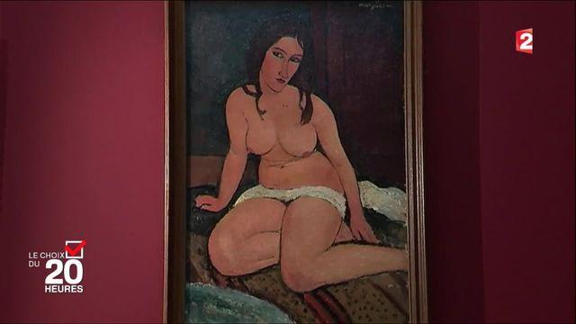 """Modigliani, le """"peintre maudit"""" au coeur d'une exposition"""