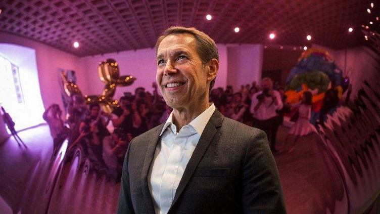 Jeff Koons (2014)  (Andrew Burton / GETTY IMAGES NORTH AMERICA / AFP)