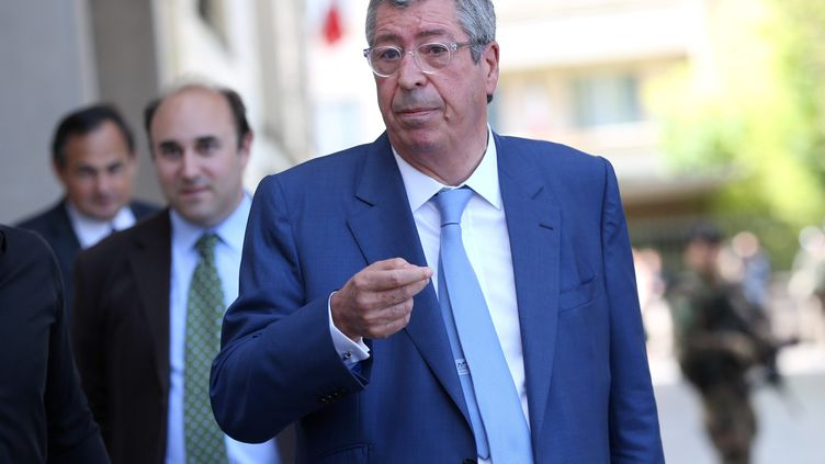 Le maire deLevallois-Perret(Hauts-de-Seine), Patrick Balkany, le 9 août 2017, après une attaque contre une patrouille de militaires. (MAXPPP)