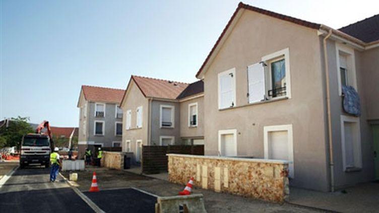 Zone résidentielle en construction à Trappes. (AFP - Loic Venance)