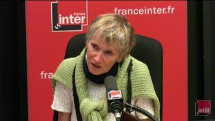 Anne Bert sur France Inter, le 6 septembre 2017, à Paris. (FRANCE INTER)