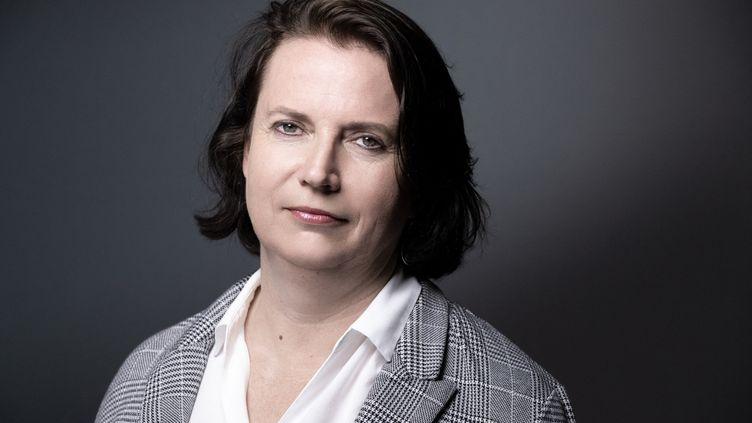 La Défenseure des droits, Claire Hédon, le 20 juillet 2020 à Paris. (JOEL SAGET / AFP)