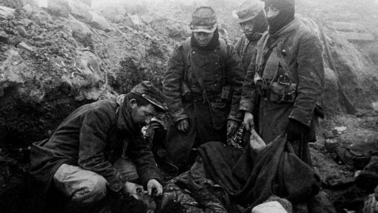 Les Eparges, près de Verdun (1914-1918)  (HUFFSCHMITT/SIPA)