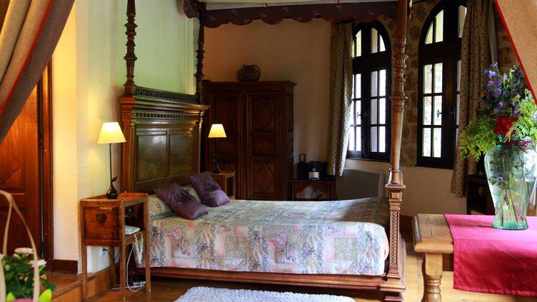 Une chambre d'hôte en Lozère, le 24 mars 2013. (MAXPPP)