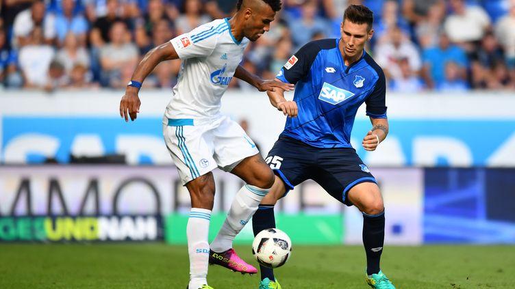 Eric Choupo-Moting (à gauche) et Schalke ne répondent plus (UWE ANSPACH / DPA)