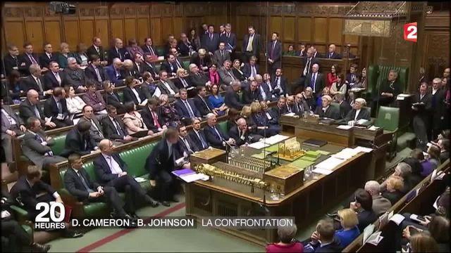 Brexit : Boris Johnson s'attire les foudres de la City