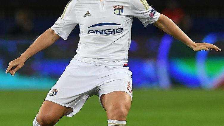 Amandine Henry a porté le maillot de l'OL de 2007 à 2016 (FRANCK FIFE / AFP)