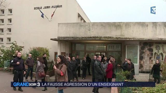 Agression en Seine-Saint-Denis: l'instituteur avait tout inventé