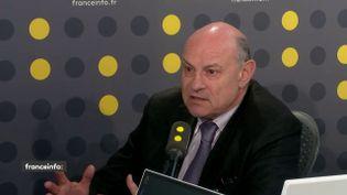 Jean-Marie Le Guen, conseiller de Paris, était l'invité de franceinfo mardi 20 mars. (FRANCEINFO)