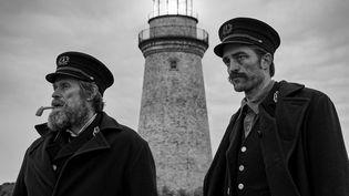 "Willem Dafoe et Robert Pattinson dans ""The Lighthouse"" (Film ""The Lighthouse"")"