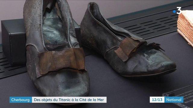 Titanic : des objets de l'épave exposés à la Cité de la Mer à Cherbourg
