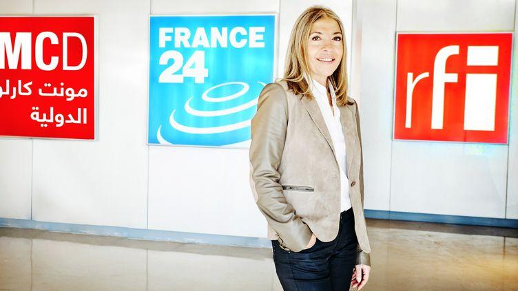 (Marie-Christine Saragosse dirige France Médias Monde depuis 2012© France 24)