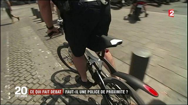 Ce qui fait débat : faut-il une police de proximité ?
