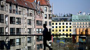 A Berlin (Allemagne), les loyers ont augmenté de 30% en un an. (BRITTA PEDERSEN / DPA-ZENTRALBILD / AFP)