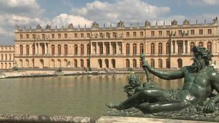 À Versailles (Yvelines), le bosquet de la Reine s'est refait une beauté. Après deux ans de restauration, le jardin rouvre ses portes, lundi 14 juin. (CAPTURE ECRAN FRANCE 2)