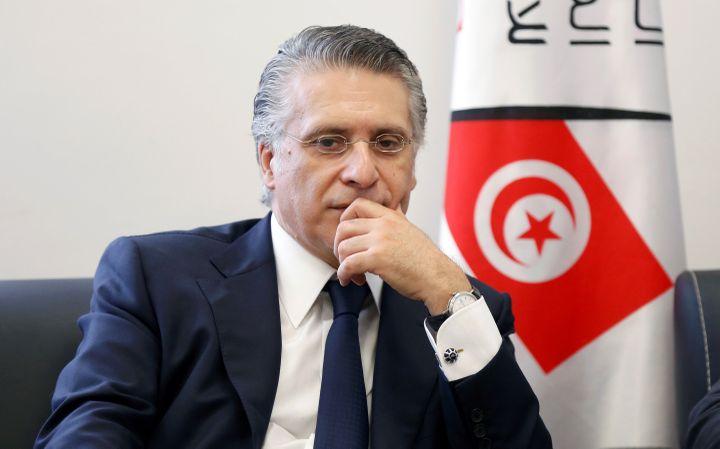 Nabil Karoui, homme d'affaires et propriétaire de la chaîne Nessma TV (REUTERS - ZOUBEIR SOUISSI / X02856)