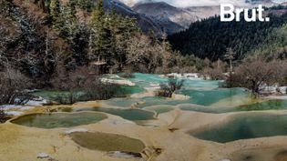 """VIDEO. """"La vallée du dragon jaune"""", un joyau minéral époustouflant caché en Chine (BRUT)"""