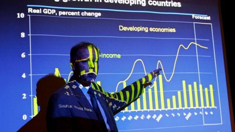 Hans Timmer, de la Banque Mondiale (ici en janvier 2008) (AFP/Dibyangshu SARKAR)