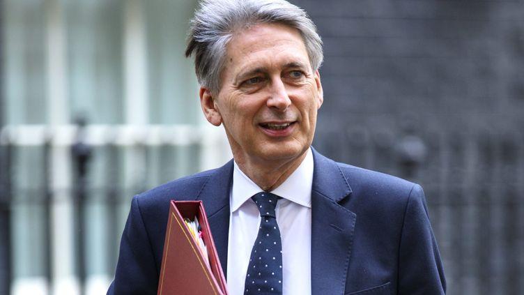 Le ministre britannique des finances, Philip Hammond, a présenté ce mercredi le premier budget post-Brexit du Royaume-Uni (TOLGA AKMEN/LNP / MAXPPP)