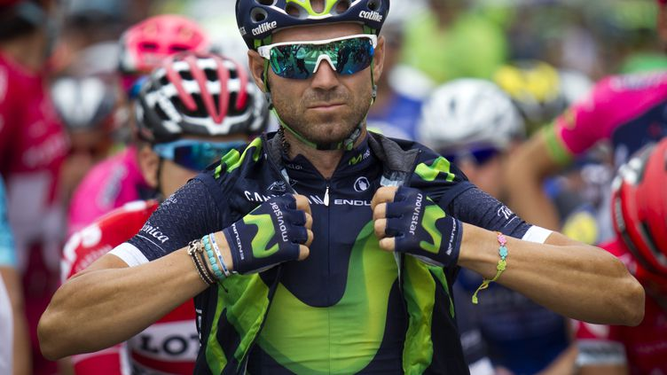 Le cycliste espagnol Alejandro Valverde (JAIME REINA / AFP)