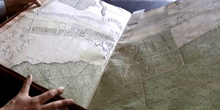 Les plans du domaine légués par le duc d'Aumale  (France 2)