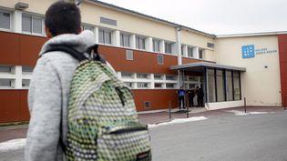 Le college Joseph-Bédier au Grand-Serre (Drôme), le 22 février 2013. (MAXPPP)
