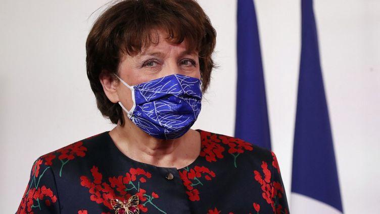 Roselyne Bachelot, le 11 février 2021, à Matignon. (FRANCOIS MORI / POOL)
