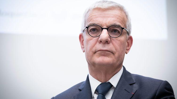 Le sénateur Hervé Maurey, le 11 février 2019. (ALEXIS SCIARD  / MAXPPP)