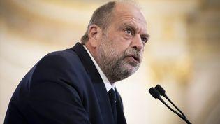 Éric Dupond-Moretti à l'Assemblée nationale, le 15 septembre 2021. (ALEXIS SCIARD / MAXPPP)