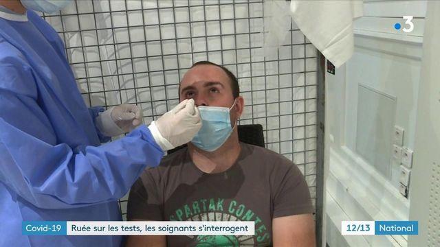 Covid-19 : les tests de confort agacent les professionnels de santé