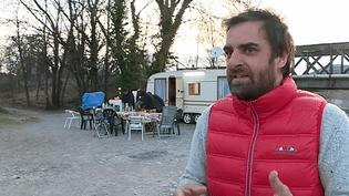 """Grégory Montel sur le tournage du court métrage """"Terrain vague"""" à Digne-les-Bains  (France 3 / Culturebox )"""