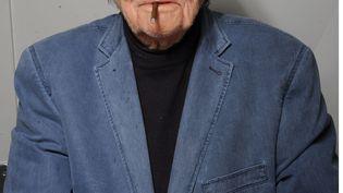 Le cinéaste Jean-Pierre Mocky à Paris, le 7 mai 2015. (PJB/SIPA)