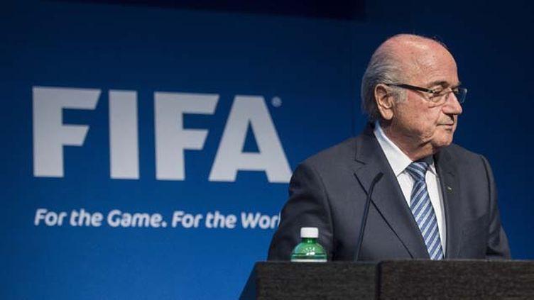 (Sepp Blatter était président de la Fifa depuis 1998 © MaxPPP)
