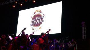 La scène du Concert John Williams/Steven Spielberg au Grand Rex du 30 avril 2016  (Jacky Bornet)