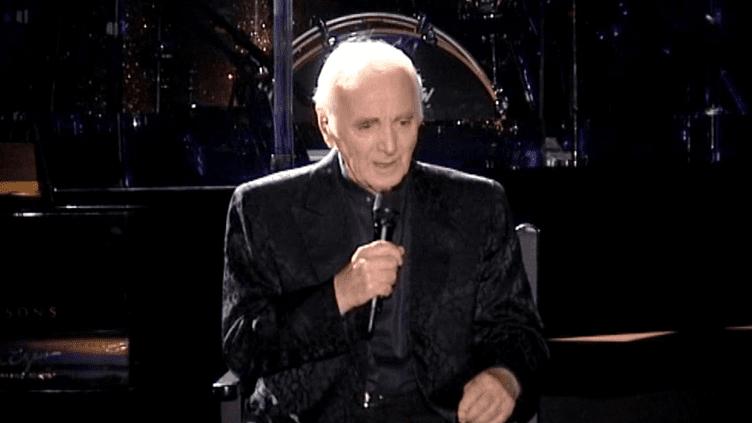 """En tournée mondiale avec son dernier album """"Encores"""", Charles Aznavour a chanté durant plus d'1h30 devant le public de La Coquille à colmar  (France 3 Culturebox)"""
