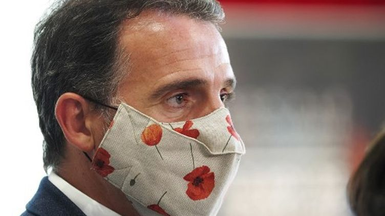 Le maire de Grenoble, Eric Piolle, le 29 août2020. (GUILLAUME SOUVANT / AFP)