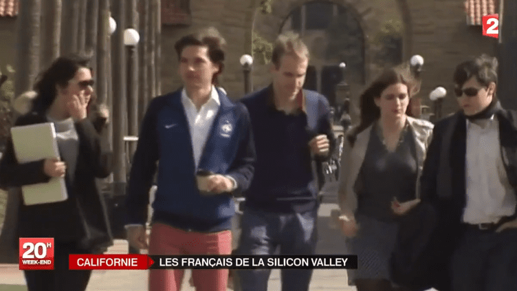 A l'université de Stanford, des étudiants français viennent apprendre à créer leur entreprise. ( FRANCE 2 / FRANCETV INFO)