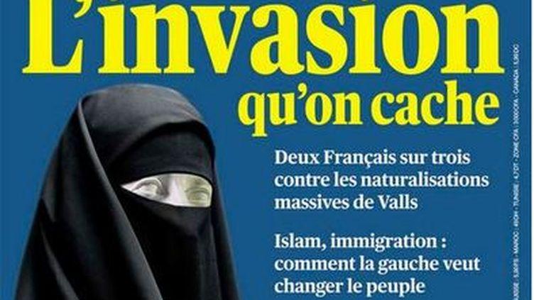 """La une de l'hebdomadaire """"Valeurs actuelles"""", paru le 26 septembre 2013. (VALEURS ACTUELLES)"""