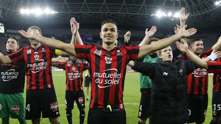 Ben Arfa et Nice planent sur la Ligue 1 (VALERY HACHE / AFP)