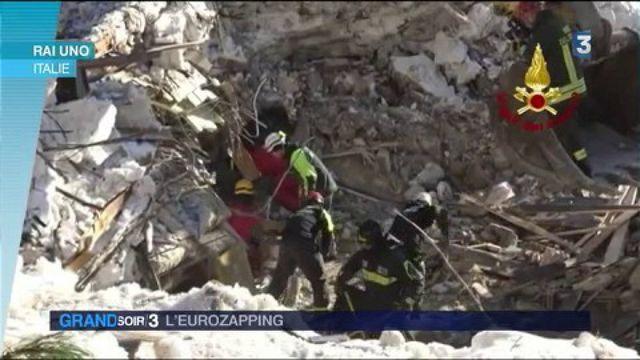 Eurozapping : le bilan s'alourdit encore dans l'avalanche en Italie
