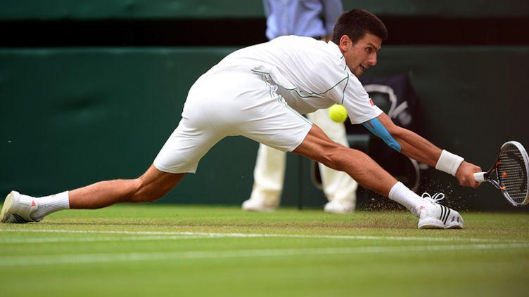 Novak Djokovic ivre de bonheur
