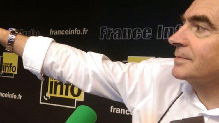 Le journaliste de franceinfo Dominique Loriou. (RADIO FRANCE)