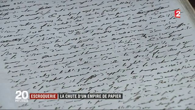 Escroquerie : la chute d'un empire de papier
