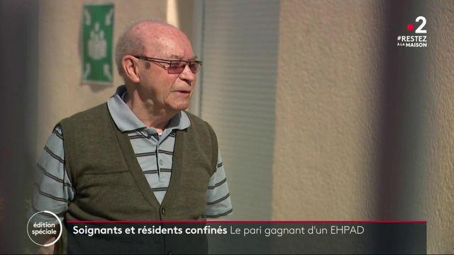 Coronavirus : pour éviter toute contamination, des soignants confinés avec les résidents d'un Ehpad