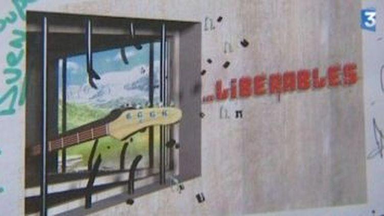 Les libérables : la prison fait du rock  (Culturebox)
