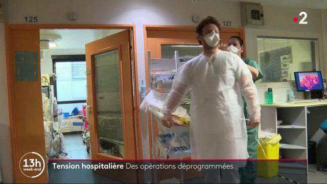 Covid-19 : des hôpitaux engorgés et sous tension