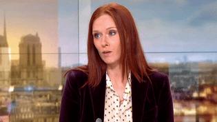 La comédienne Audrey Fleurot sur le plateau de France 2, le 11 mars 2017  (Culturebox / Capture d'écran)
